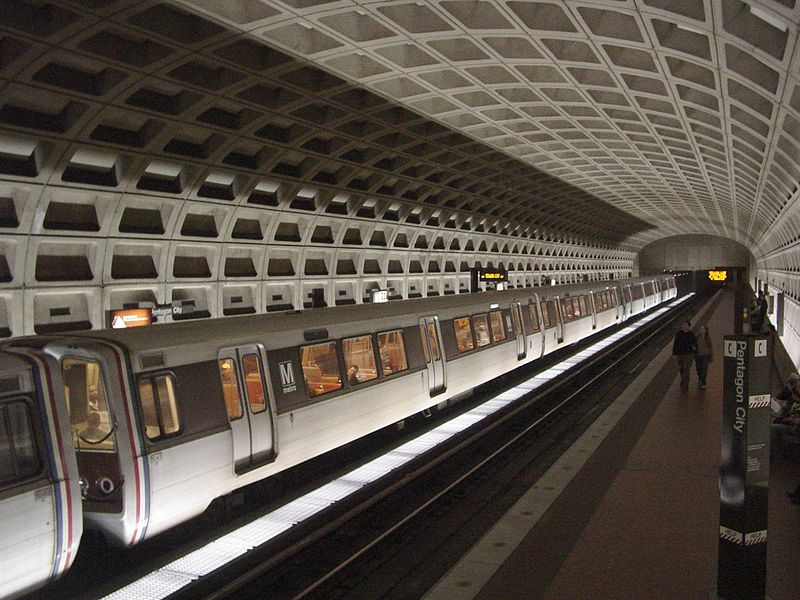 Pentagon City Station Arlington
