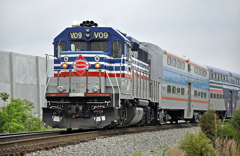 Virginia Railway Express Train